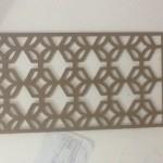 Jasa CNC Router  Acrylic ornament